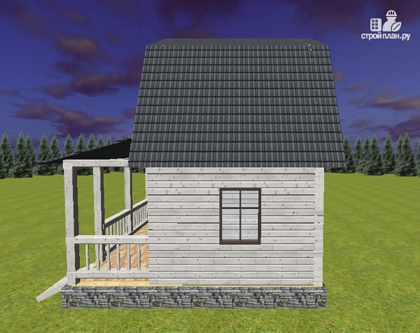 Фото 3: проект дом из бруса 6х4