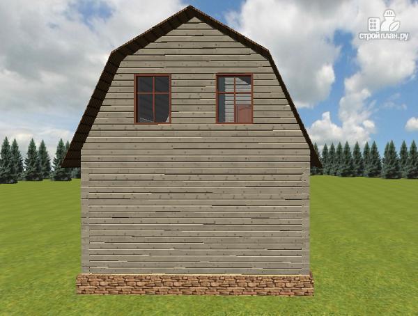 Фото 4: проект дом из бруса 6х6