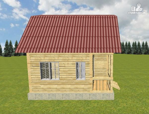 Фото 6: проект дом из бруса 6х6