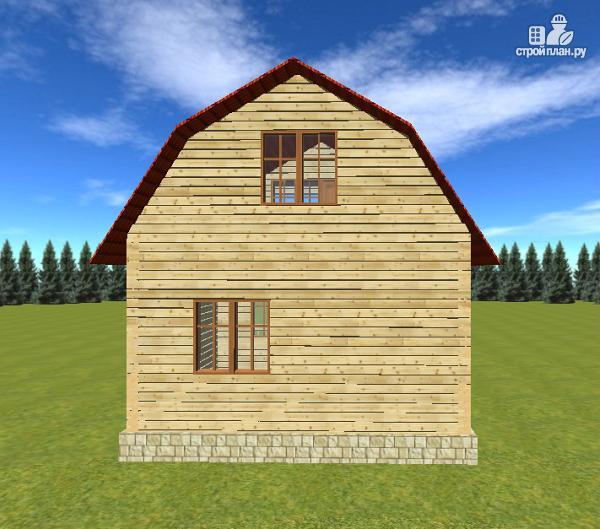 Фото 5: проект дом из бруса 6х6