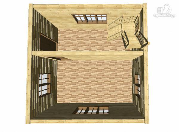 Фото 10: проект дом из бруса 6х6