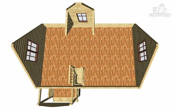 Фото 11: проект дом из бруса 6х9