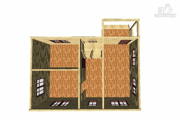 Фото 9: проект дом из бруса 6х9