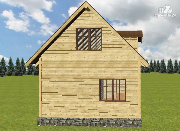 Фото 4: проект дом из бруса 6х9