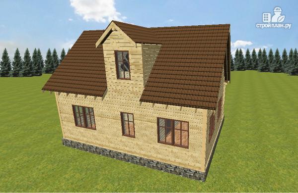 Фото: проект дом из бруса 6х9