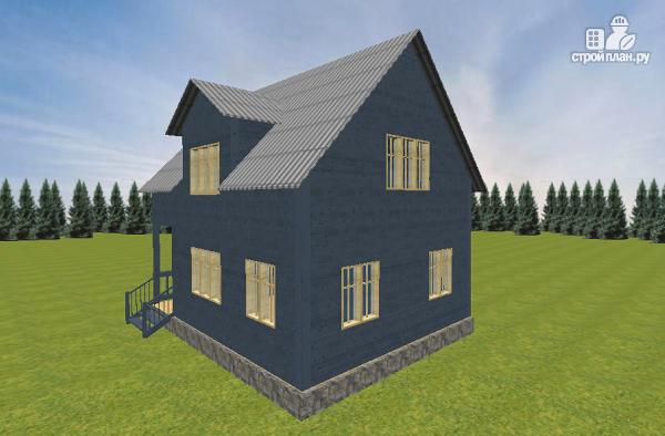 Фото 5: проект дом из бруса 7х9