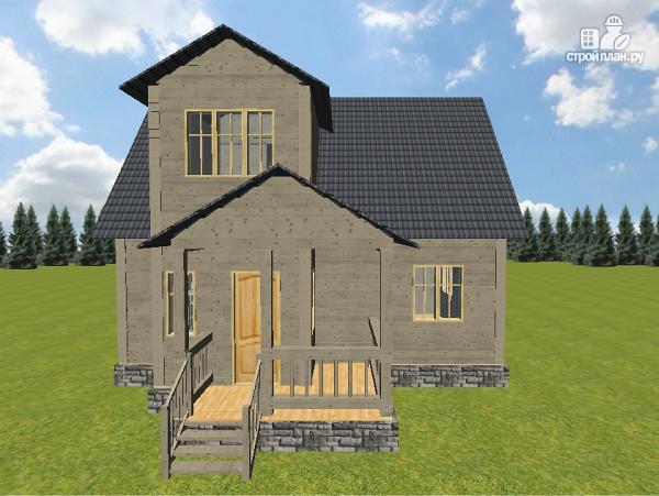 Фото 4: проект дом из бруса 7х9