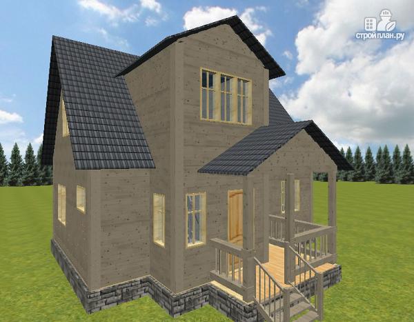 Фото 3: проект дом из бруса 7х9