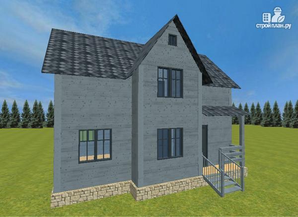 Фото 4: проект двухэтажный дом из бруса 7х9