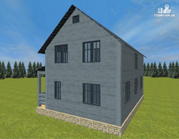 Фото 7: проект двухэтажный дом из бруса 7х9
