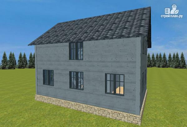 Фото 6: проект двухэтажный дом из бруса 7х9