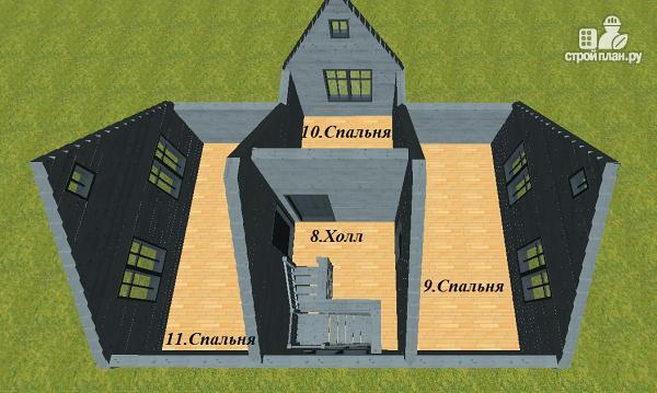 Фото 11: проект двухэтажный дом из бруса 7х9