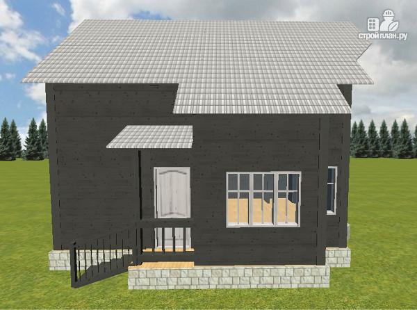 Фото 6: проект дом из бруса 7х9 со вторым светом