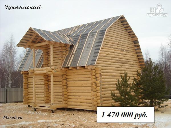 Фото: проект дом из бревна 6х9