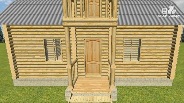 Фото 11: проект дом из бревна 6х9