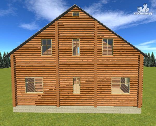 Фото 7: проект сруб дома из бревна 10х12