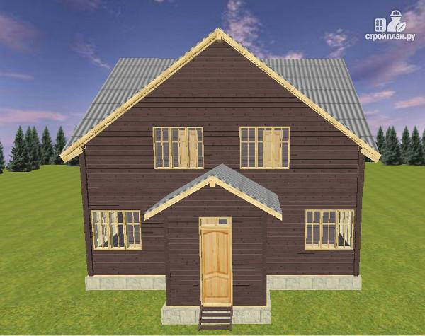 Фото 4: проект дом на две семьи 10х12.5