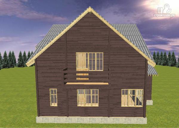 Фото 3: проект дом на две семьи 10х12.5