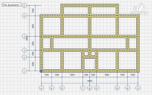 Фото 7: проект спаренный дом из бруса 9.5х14