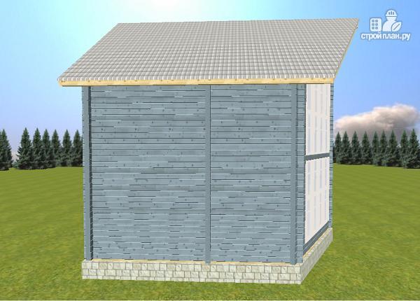 Фото 3: проект дом из бруса со вторым светом
