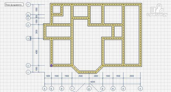 Фото 8: проект дом из бруса 10х14 с баней