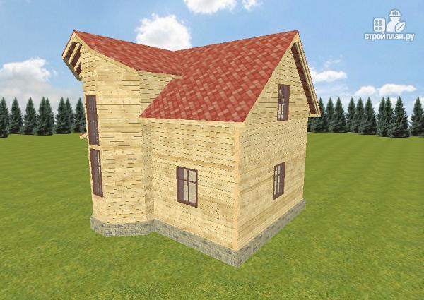 Фото 2: проект дом из бруса 7х7.5