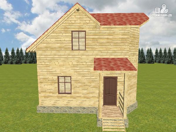 Фото 3: проект дом из бруса 7х7.5