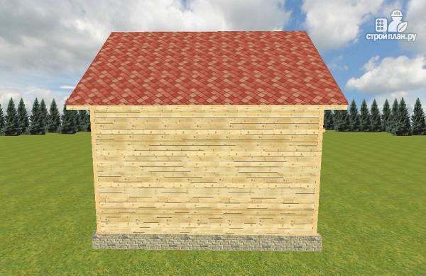 Фото 4: проект дом из бруса 7х7.5
