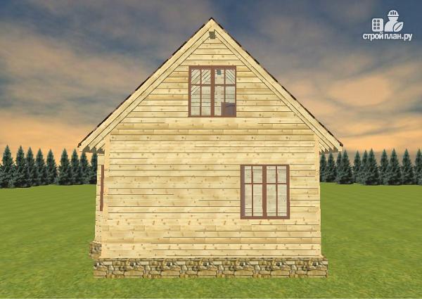 Фото 4: проект дом из бруса 7х8
