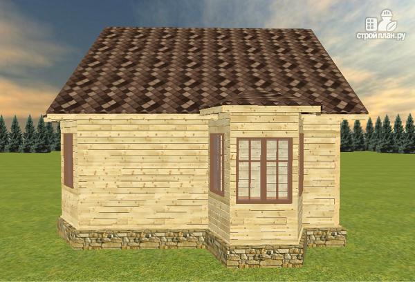 Фото 5: проект дом из бруса 7х8
