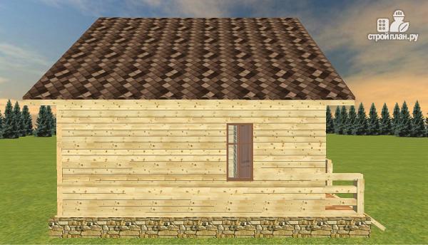 Фото 3: проект дом из бруса 7х8