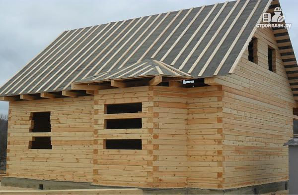Фото 3: проект дом из бруса 9х10