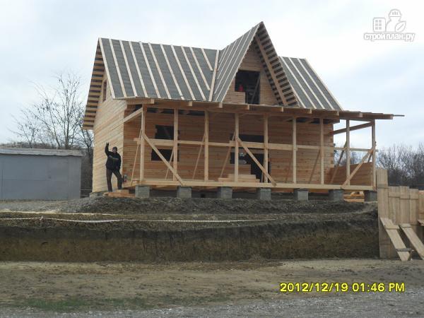 Фото 2: проект дом из бруса 9х10