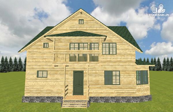 Фото 4: проект дом из бруса 12х11.5