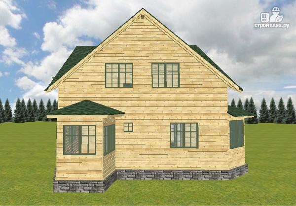 Фото 5: проект дом из бруса 12х11.5