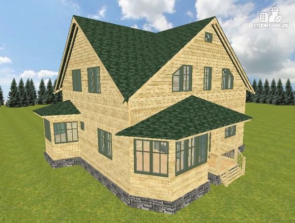 Фото: проект дом из бруса 12х11.5
