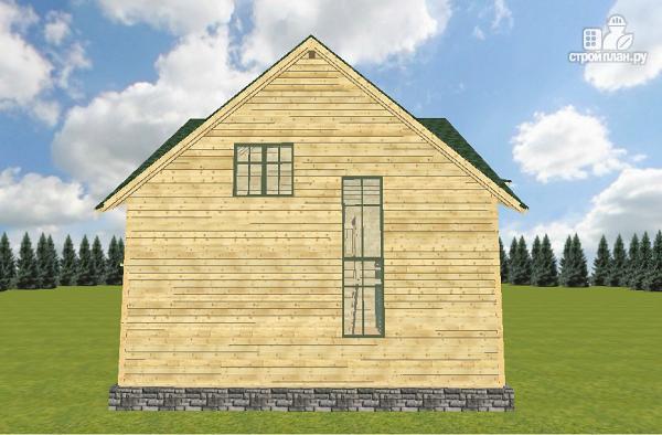Фото 3: проект дом из бруса 12х11.5