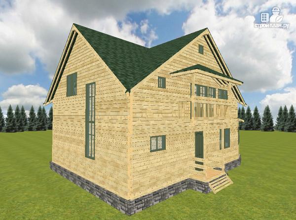 Фото 7: проект дом из бруса 12х11.5