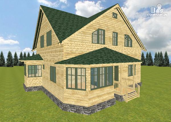 Фото 6: проект дом из бруса 12х11.5