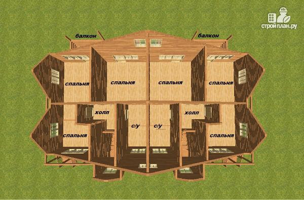 Проэкты домов на 2 хозяина - vdstroy каркасные дома под ключ