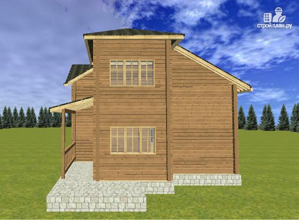 Фото 9: проект дом из бруса на две семьи