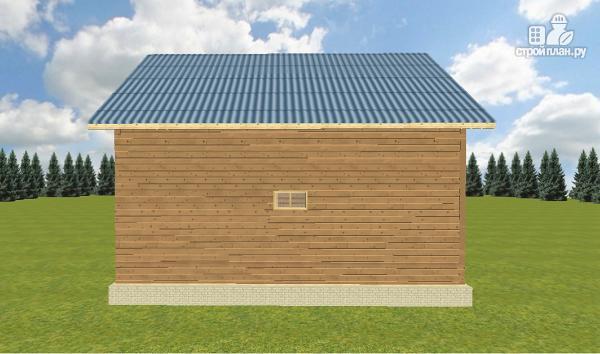 Фото 12: проект дом из бруса 8х9