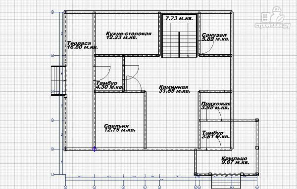 Фото 5: проект дом из бруса