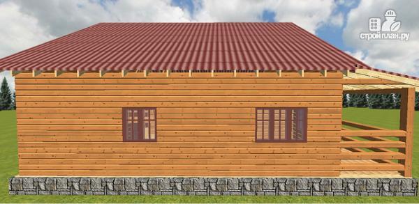 Фото 11: проект дом из бруса
