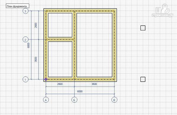 Фото 8: проект дом из бруса 6х6 с террасой и балконом
