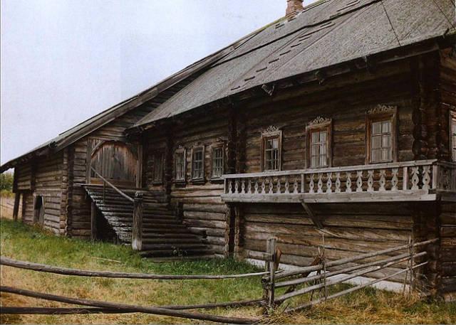 Интерьер русского дома