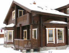 Анонс: Дома из бруса – лучший выбор при строительстве загородного дома