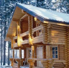 Анонс: Построить деревянный дом: какой выбрать – дом из бруса или дом из бревна?