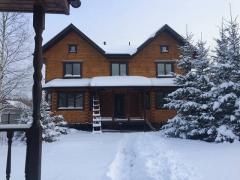 Анонс: Деревянный дом-дуплекс на две семьи