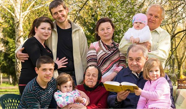 Фото русское семейное 37320 фотография